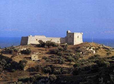 Замок Сант Анжело в Ликате