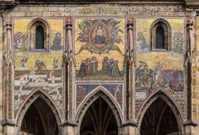 Мозаика Страшного суда на Золотых Воротах