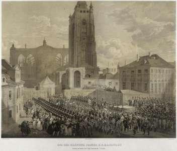 Недостроенный Собор в 1836 году