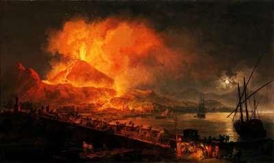 Помпеи. Извержение вулкана