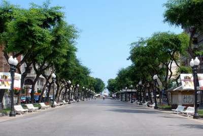 Улица Рамбла Нова