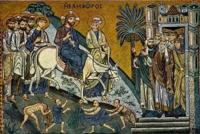 Мозаики из капеллы Палатина
