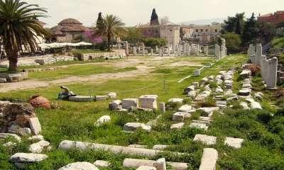 Раскопки Агоры