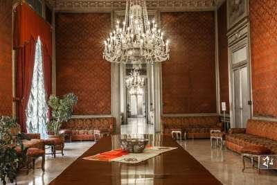 Palazzo delle Aquile внутри