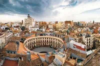 Вид на площадь Валенсии