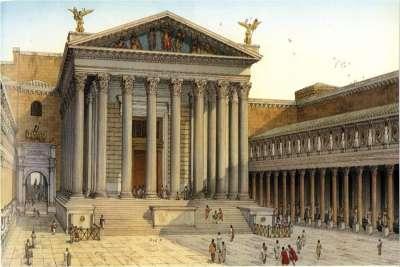 Иллюстрация Храма Марса