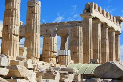 Pillars of Temple