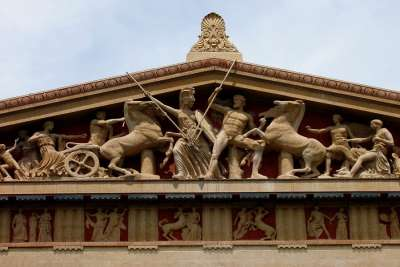 Temple Frieze