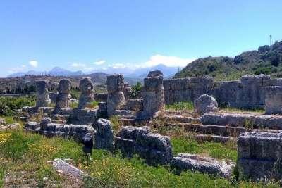 Остатки античного города