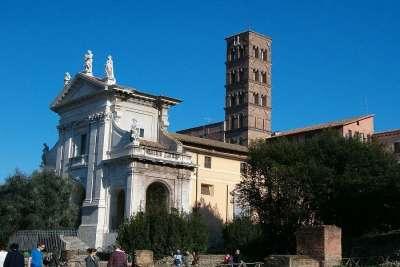 Церковь Святой Франчески Санта-Франческа-Романа