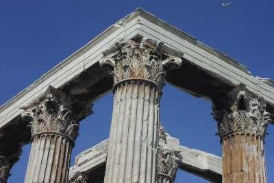 Temple of Zeus. Details