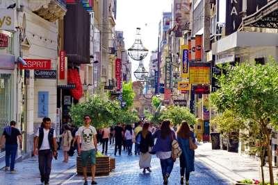 The Ermou Street