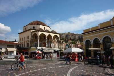 The Monastiraki square