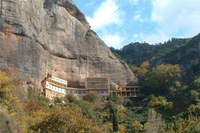 Монастырь на горе Хелмос