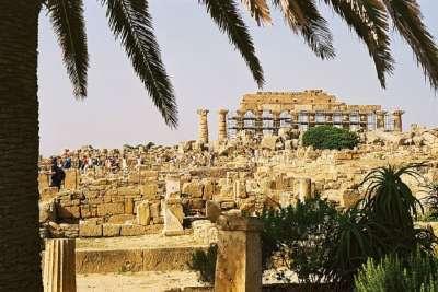 Вид на Акрополь Селинунта