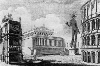 Иллюстрация Храма Венеры и Ромы