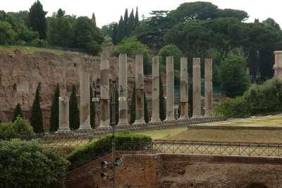 Колонны Храма Венеры и Ромы