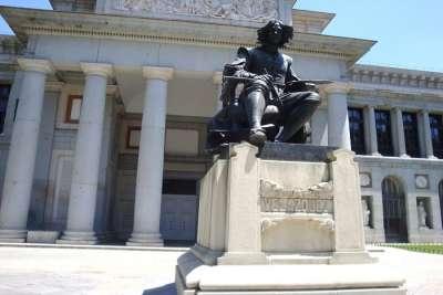Памятник Веласкесу в Мадриде
