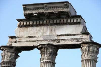 Архитектура храма Кастора и Поллукса