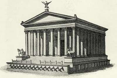 Иллюстрация храма