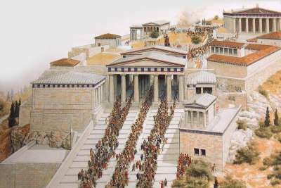Illustration of Acropolis