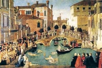 Венеция на картине Беллини