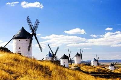 Ветряные мельницы Кастилии Ла-Манча