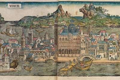 Иллюстрация Древний Венеции