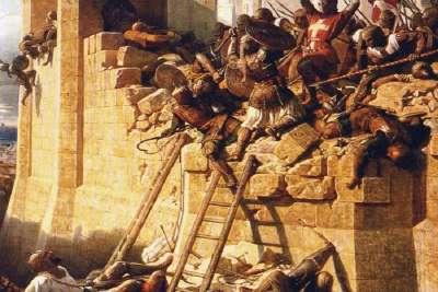Бой у форта Святого Николая