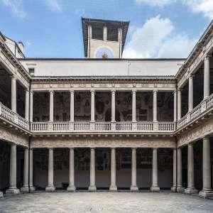 Внутренний двор Университета