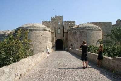 Вход в Родосскую крепость рыцарей