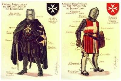 Госпитальеры 13 и 14 веков