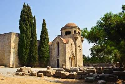 Монастырь на горе Филарем