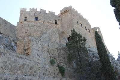 Резиденция рыцарей Ордена Святого Иоанна в акрополе Линдоса