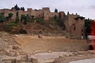 Вид на амфитеатр