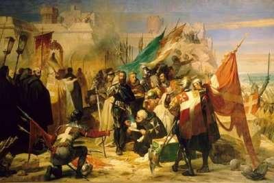 Триумф госпитальеров после снятия осады в 1480 г.