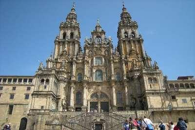 Фасад собора Сантьяго