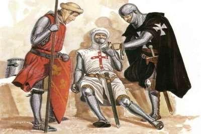 Рыцари ордена Госпитальеров 16 века