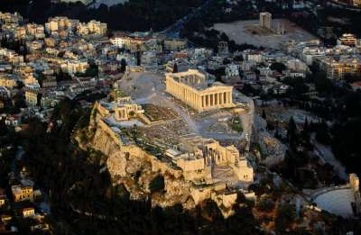 Акрополь. Вид сверху