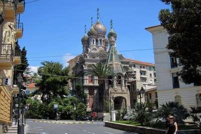 Вид на православную церковь