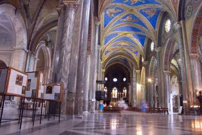 Интерьер Церкви Санта-Мария-Сопра-Минерва
