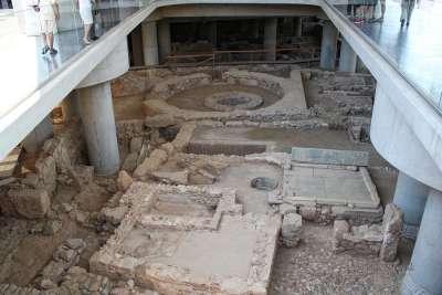 Музей Акрополя внутри