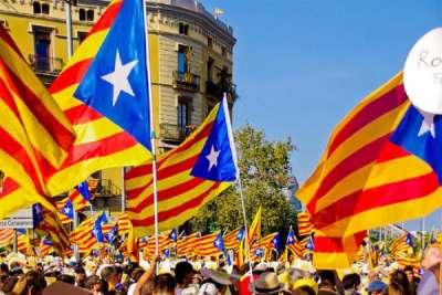 Национальный флаг Каталонии