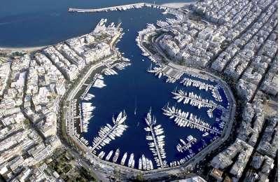 Порт Пирей. Греция