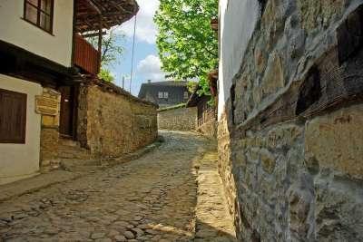 Улочки болгарского города Елена