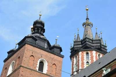 Башни костела