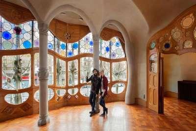 Дом Батльо внутри