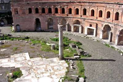 Руины Форума Траяна