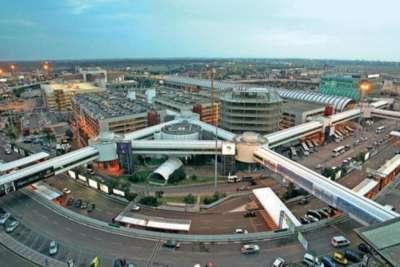 Аэропорт Фьюмичино. Парковка
