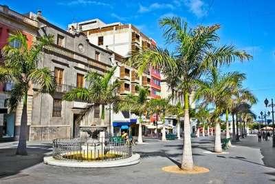 Главная улица Санта-Крус -де- Тенерифе